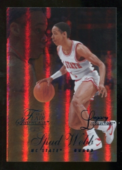 2012/13 Upper Deck Fleer Retro 96-97 Flair Legacy Row 1 #96FL31 Spud Webb /150