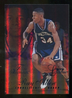 2012/13 Upper Deck Fleer Retro 96-97 Flair Legacy Row 1 #96FL45 Ray Allen /150