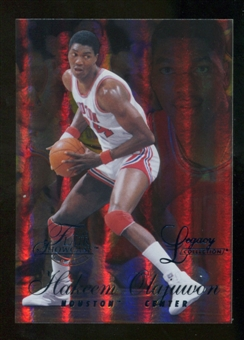 2012/13 Upper Deck Fleer Retro 96-97 Flair Legacy Row 1 #96FL48 Hakeem Olajuwon /150