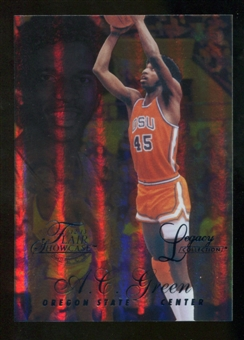 2012/13 Upper Deck Fleer Retro 96-97 Flair Legacy Row 1 #96FL49 A.C. Green /150