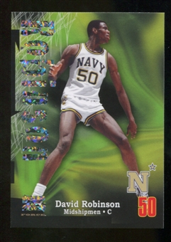 2012/13 Upper Deck Fleer Retro 97-98 Z-Force Super Rave #Z6 David Robinson /50
