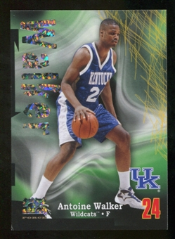 2012/13 Upper Deck Fleer Retro 97-98 Z-Force Super Rave #Z17 Antoine Walker /50