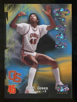 2012/13 Upper Deck Fleer Retro 97-98 Z-Force Super Rave #Z18 A.C. Green /50