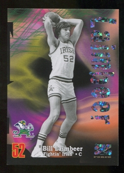 2012/13 Upper Deck Fleer Retro 97-98 Z-Force Super Rave #Z30 Bill Laimbeer /50