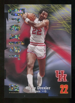 2012/13 Upper Deck Fleer Retro 97-98 Z-Force Super Rave #Z36 Clyde Drexler /50