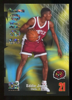 2012/13 Upper Deck Fleer Retro 97-98 Z-Force Super Rave #Z37 Eddie Jones /50