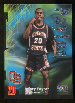 2012/13 Upper Deck Fleer Retro 97-98 Z-Force Super Rave #Z38 Gary Payton /50