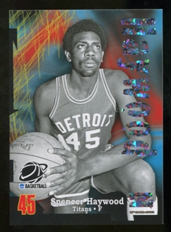 2012/13 Upper Deck Fleer Retro 97-98 Z-Force Super Rave #Z46 Spencer Haywood /50