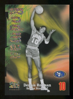 2012/13 Upper Deck Fleer Retro 97-98 Z-Force Rave #Z2 Dennis Rodman /399