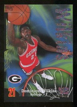 2012/13 Upper Deck Fleer Retro 97-98 Z-Force Rave #Z5 Dominique Wilkins /399