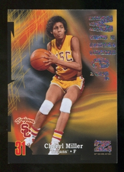 2012/13 Upper Deck Fleer Retro 97-98 Z-Force Rave #Z12 Cheryl Miller /399