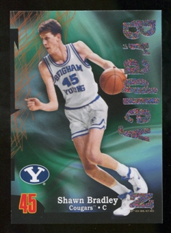 2012/13 Upper Deck Fleer Retro 97-98 Z-Force Rave #Z29 Shawn Bradley /399