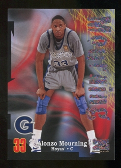 2012/13 Upper Deck Fleer Retro 97-98 Z-Force Rave #Z34 Alonzo Mourning /399