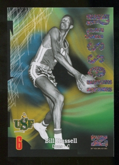2012/13 Upper Deck Fleer Retro 97-98 Z-Force Rave #Z40 Bill Russell /399