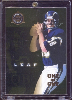 1998  Pinnacle Mint Gold One-of-One #64 Ryan Leaf