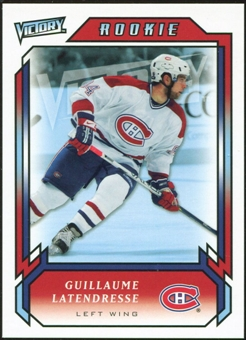 2006/07 Upper Deck Victory #290 Guillaume Latendresse