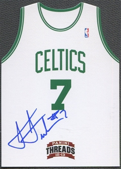 2012/13 Panini Threads #22 Jared Sullinger Rookie Team Threads Auto
