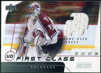 2002/03 Upper Deck First Class #UDPR Patrick Roy