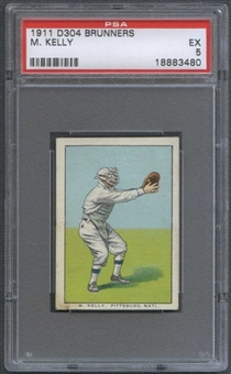 1911 D304 Brunners M. Kelly PSA 5 (EX) *3480