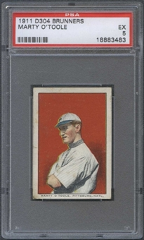 1911 D304 Brunners Marty O'Toole PSA 5 (EX) *3483