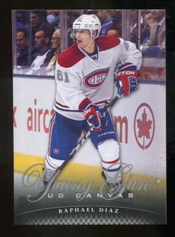 2011/12 Upper Deck Canvas #C103 Raphael Diaz YG