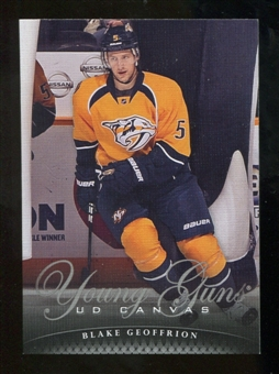 2011/12 Upper Deck Canvas #C105 Blake Geoffrion YG