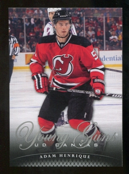 2011/12 Upper Deck Canvas #C107 Adam Henrique YG