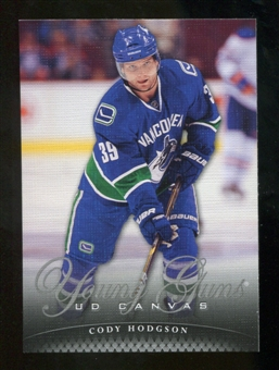2011/12 Upper Deck Canvas #C117 Cody Hodgson YG