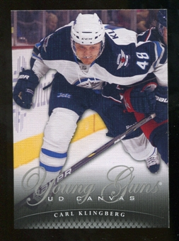 2011/12 Upper Deck Canvas #C118 Carl Klingberg YG