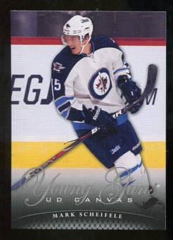 2011/12 Upper Deck Canvas #C119 Mark Scheifele YG