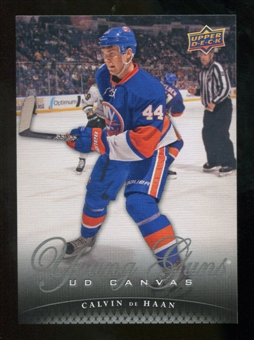 2011/12 Upper Deck Canvas #C219 Calvin de Haan YG