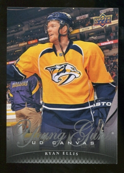 2011/12 Upper Deck Canvas #C222 Ryan Ellis YG
