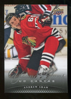 2011/12 Upper Deck Canvas #C232 Andrew Shaw YG