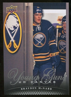 2011/12 Upper Deck Canvas #C238 Brayden McNabb YG