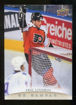2011/12 Upper Deck Canvas #C248 Eric Lindros RET