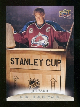 2011/12 Upper Deck Canvas #C249 Joe Sakic RET