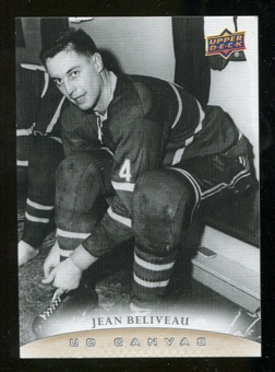 2011/12 Upper Deck Canvas #C250 Jean Beliveau RET