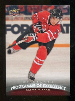 2011/12 Upper Deck Canvas #C258 Calvin de Haan POE