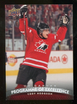 2011/12 Upper Deck Canvas #C260 Cody Hodgson POE