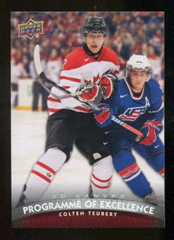 2011/12 Upper Deck Canvas #C261 Colten Teubert POE