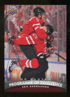 2011/12 Upper Deck Canvas #C262 Erik Gudbranson POE