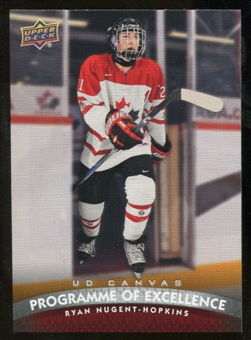 2011/12 Upper Deck Canvas #C267 Ryan Nugent-Hopkins POE
