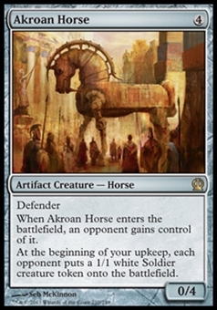 Magic the Gathering Theros Single Akroan Horse Foil - NEAR MINT (NM)