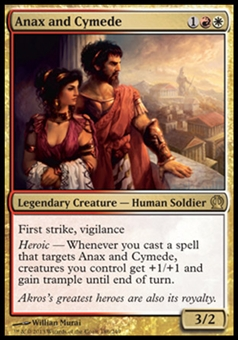 Magic the Gathering Theros Single Anax and Cymede - NEAR MINT (NM)