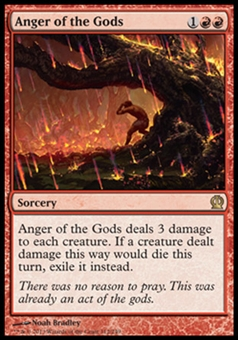Magic the Gathering Theros Single Anger of the Gods - NEAR MINT (NM)