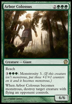 Magic the Gathering Theros Single Arbor Colossus - NEAR MINT (NM)