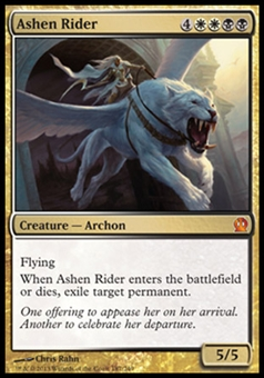 Magic the Gathering Theros Single Ashen Rider Foil - NEAR MINT (NM)