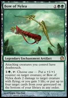 Magic the Gathering Theros Single Bow of Nylea - NEAR MINT (NM)