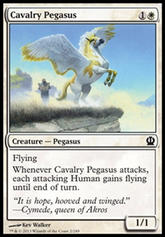 Magic the Gathering Theros Single Cavalry Pegasus - NEAR MINT (NM)