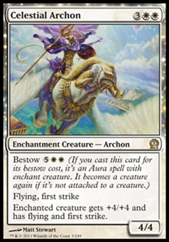 Magic the Gathering Theros Single Celestial Archon - NEAR MINT (NM)
